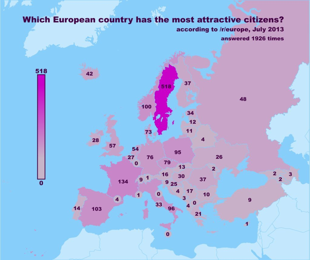 Which European Country Has The Hottest Women