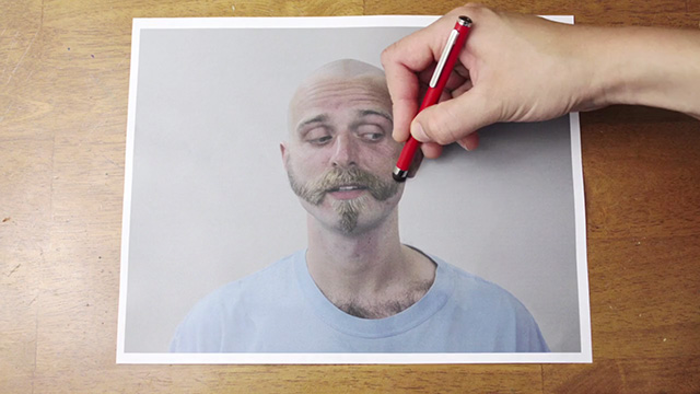 Brilliant Stopmotion Video Of A Man Getting A Reverse Haircut - Brilliant stop motion video of a man getting a reverse haircut