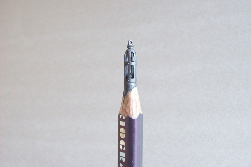 Unbelievable sculptures carved from pencils