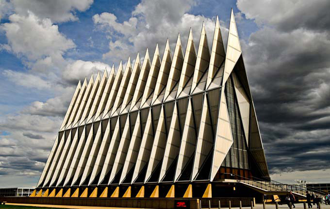 Air-Force-Academy-Chapel-Colorado-1