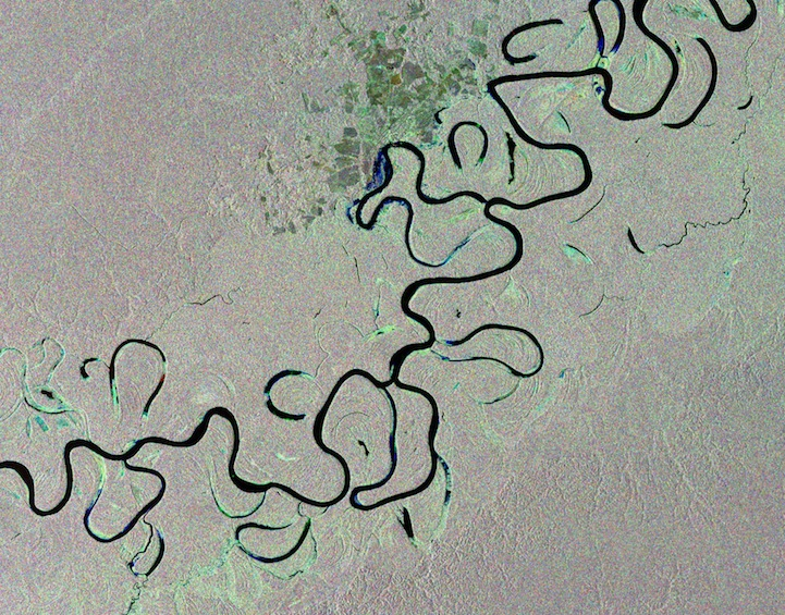 Rainforest river, Brazil, compilation of images
