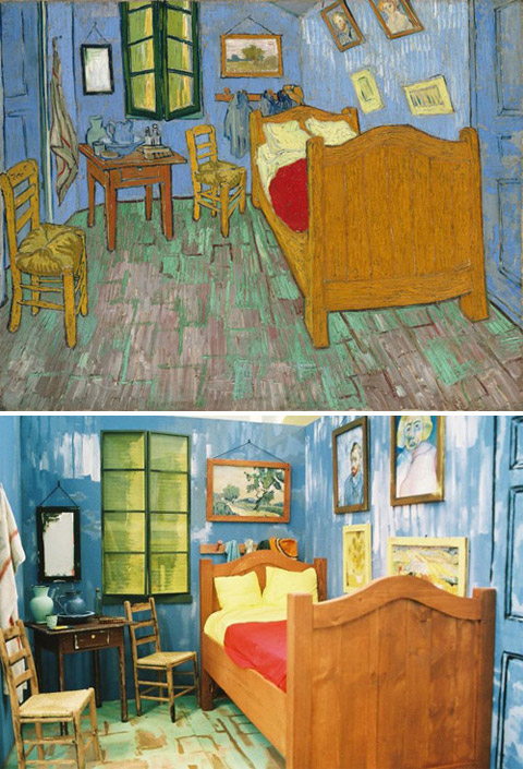 """Bedroom in Arles"", Van Gogh - remake by Joshua Louis Simon"