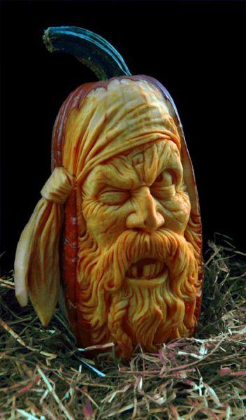 Mind blowing pumpkin carvings by ray villafane
