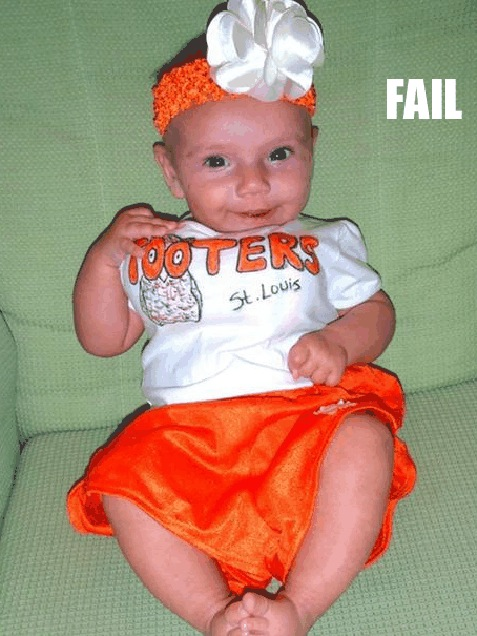 //.blippitt.com/baby-costume-fail/  sc 1 st  Just something (creative) & The 16 Most Inappropriate Halloween Costumes For Kids. #10 Is Too ...