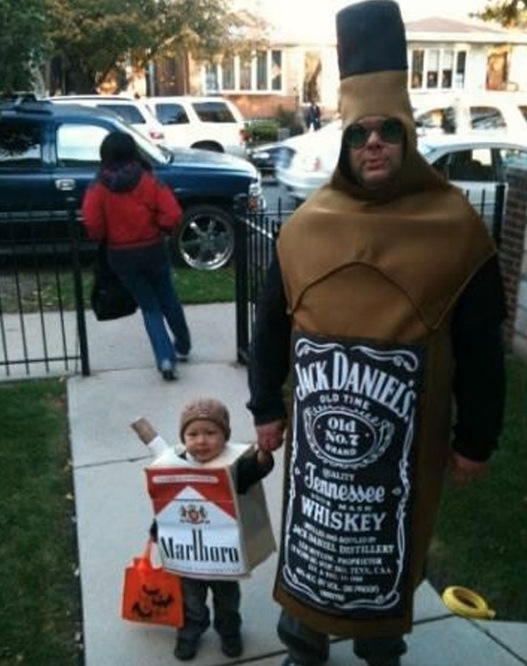 11. Jack and cigarettes  sc 1 st  Just something (creative) & The 16 Most Inappropriate Halloween Costumes For Kids. #10 Is Too ...