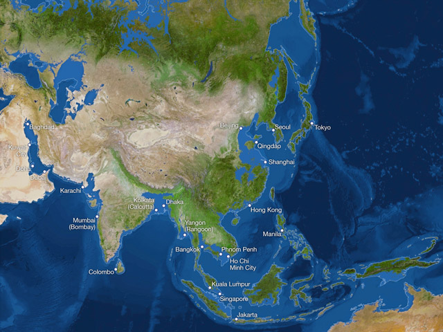 Maps Reveal How The Earth Would Look If All The Polar Ice Melted - Map reveals what the earth would look like if all the polar ice melted 2