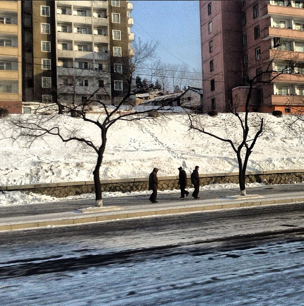 Pyongyang. Photo credits: David Guttenfelder