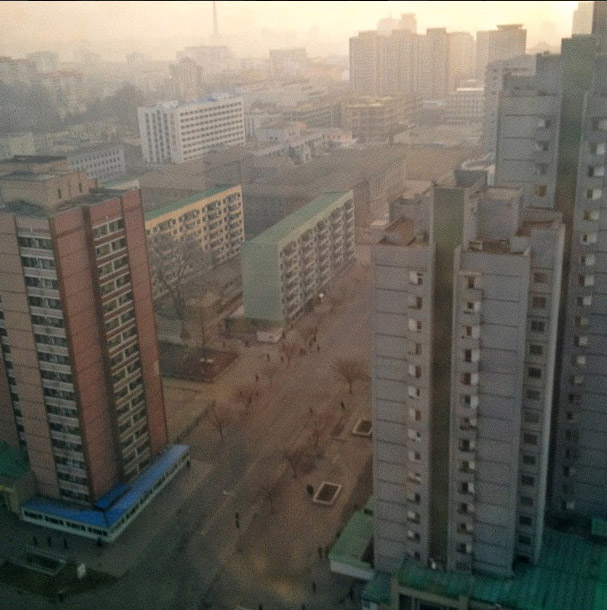 A view of Pyongyang. Photo credits: David Guttenfelder