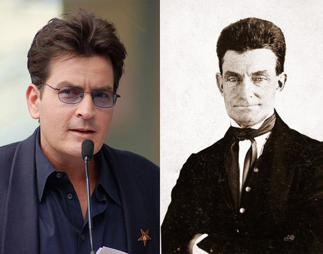 via nydailynews.com http://www.nydailynews.com/entertainment/celebrities-old-time-look-alikes-gallery-1.1339785?pmSlide=1.1339776