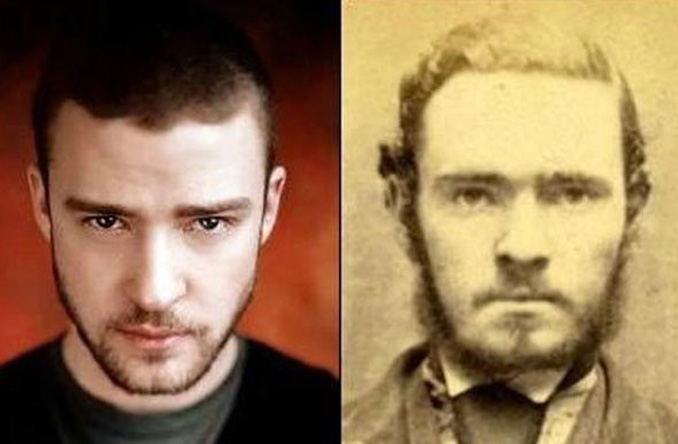 via nydailynews.com http://www.nydailynews.com/entertainment/celebrities-old-time-look-alikes-gallery-1.1339785?pmSlide=1.1339781