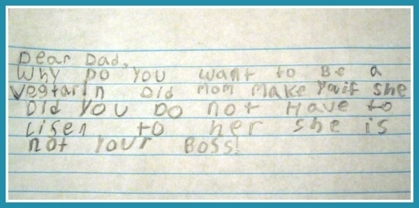 via http://stuffkidswrite.com/2011/09/08/mom-is-not-your-boss/