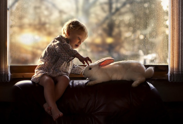 Mom takes emotional pics of her kids and animals in their ... - photo#10
