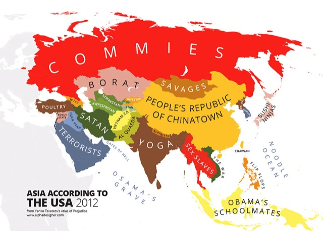 Unusual Maps You Absolutely Need To See To Understand The World - World map usa