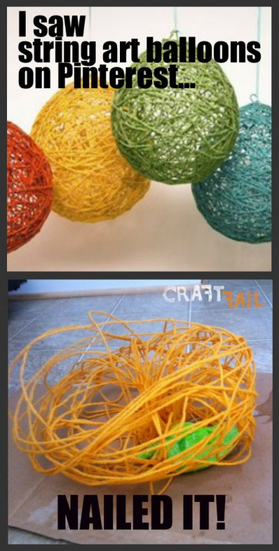 String art balloons? You're doing it wrong!