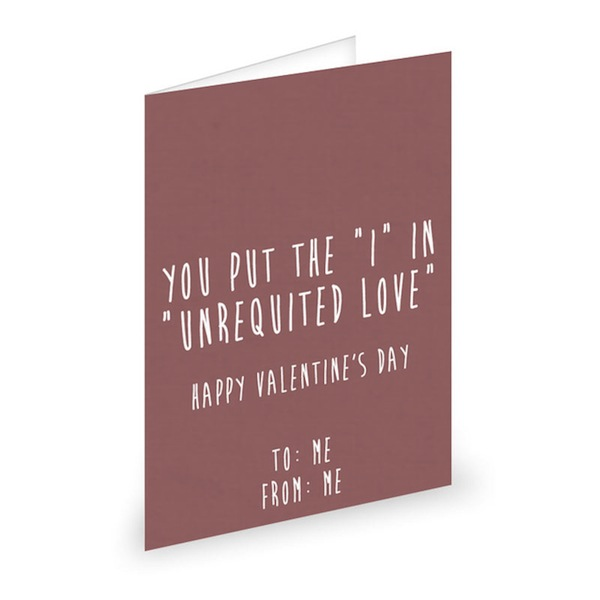 8 funny Valentines cards for single people – Single Valentines Cards