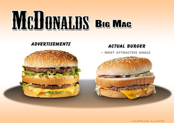 We Know Fast Food Ads Are Telling Us Lies But Now Take A Look At - Fast food ads vs reality the truth unveiled by these photos