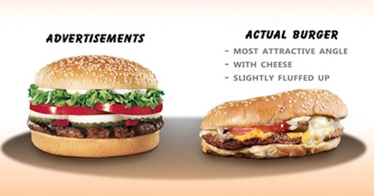 We Know Fast Food Ads Are Telling Us Lies But Now Take A Look At This So Wrong