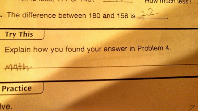 32 hilarious kids test answers that are too brilliant to be wrong