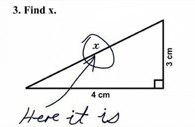 Hilarious Kids Test Answers That Are Too Brilliant To Be Wrong - 32 hilarious kids test answers