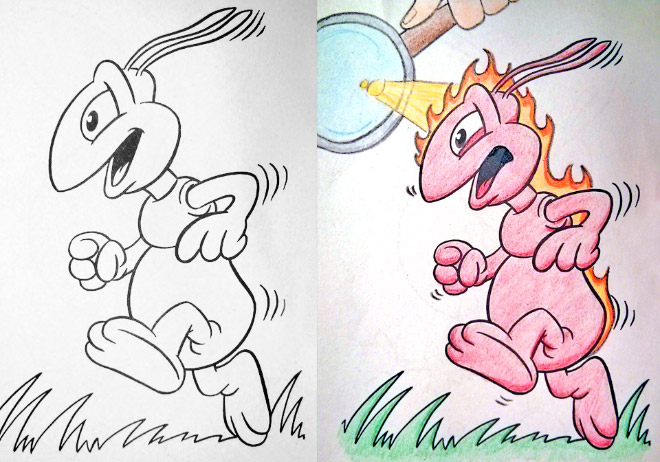 - Hilarious Coloring Books For Children Seen From Adults' Corrupted  Perspective