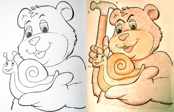 Hilarious Coloring Books For Children Seen From Adults Corrupted