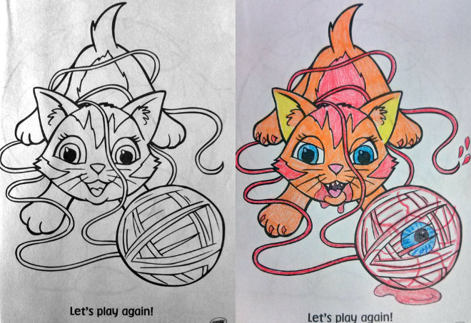 Coloring Book Corruptions 7