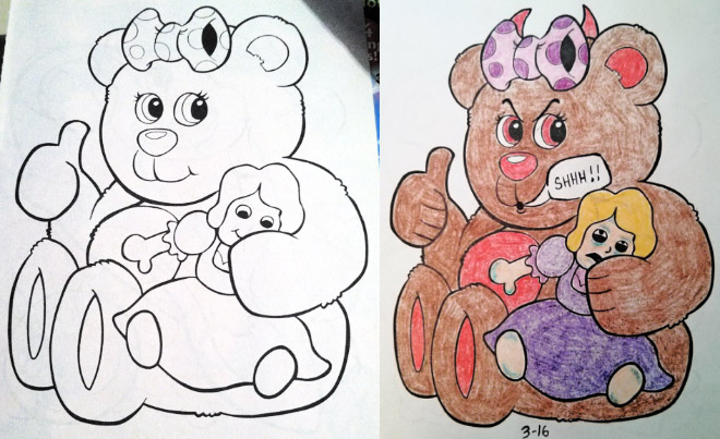 Coloring Book Corruptions 8