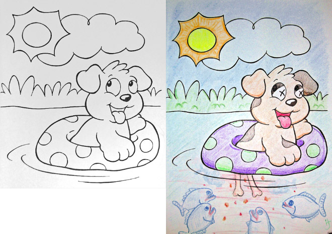 Hilarious coloring books for children seen from adults\' corrupted ...