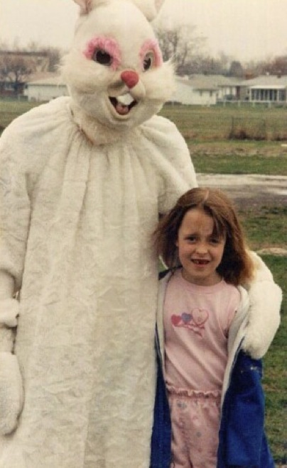 Creepy Easter Bunnies Photos That Will Make You Jump Out Of - 26 creepy easter bunnies