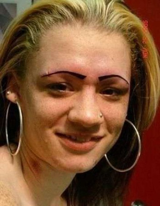 28 Hilarious Eyebrow Fails That Will Make You Cringe