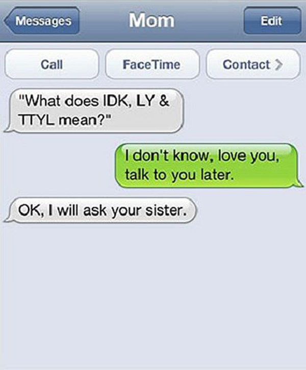 funniest-parents-texts-16 Funny Text Messages From Parents