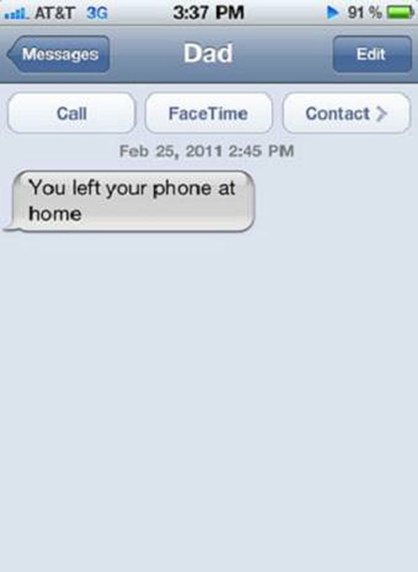 The Funniest Text Ever Sent From Parents To Their Kids I - 24 badass parents mastering texting way better kids