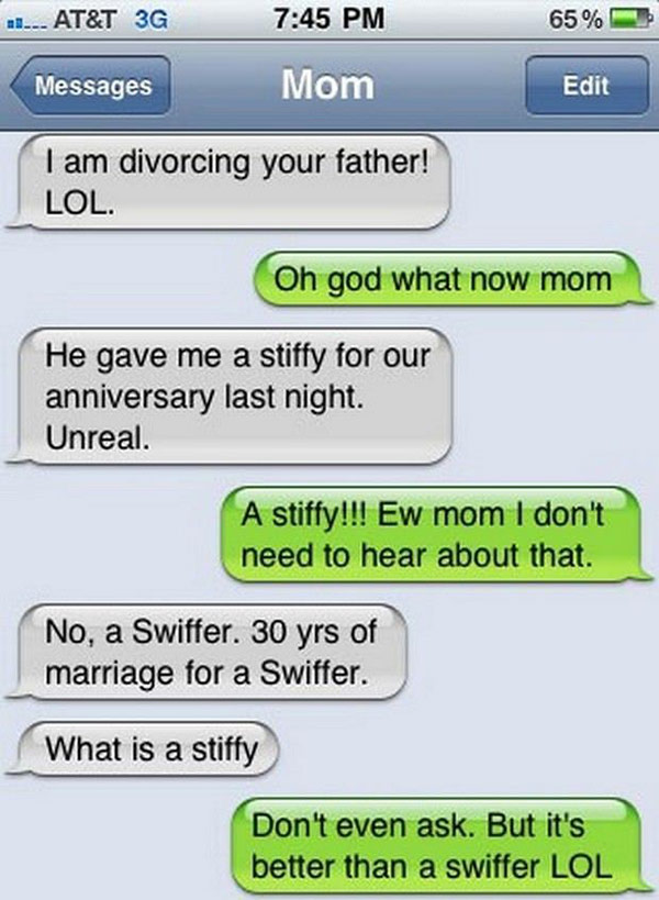 The Funniest Text Ever Sent From Parents To Their Kids I - The 25 funniest text autocorrects you will see today