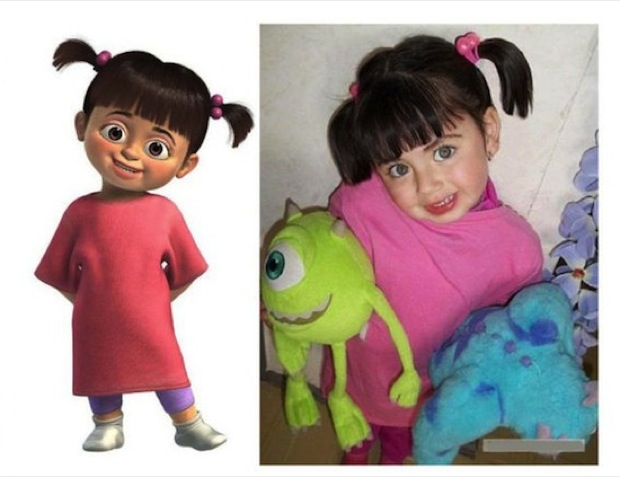 funny cartoon look alikes