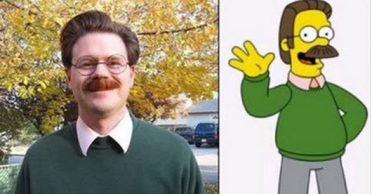 People Who Are Hilarious Look Alikes Of Cartoon Characters - People cartoon look alikes