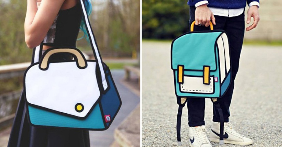 These Handbags That Look Just Like Cartoons Totally Deceived My Eyes In The First Place