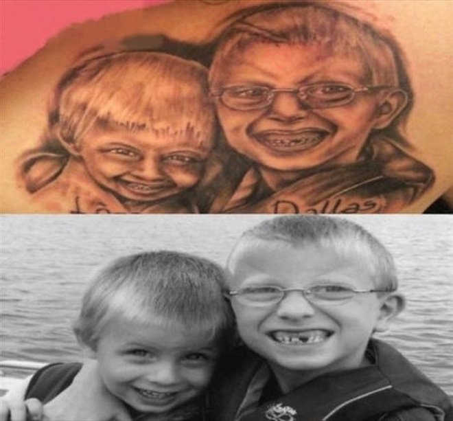 The 32 Most Hilarious Portrait Tattoo Fails Ever 16 Made My Spine Tingle Lol