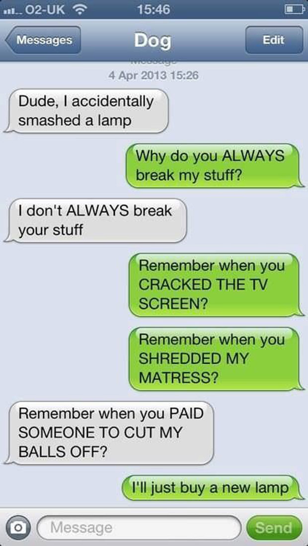 Funny text greetings