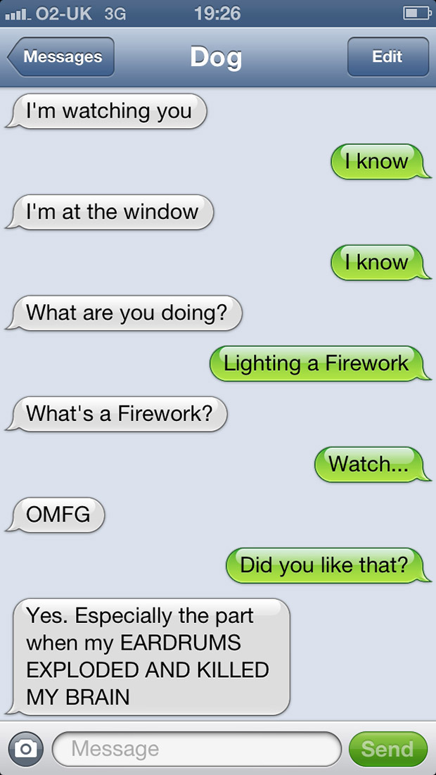 Funny Meme Text Messages : The funniest text messages from dogs i couldn t help