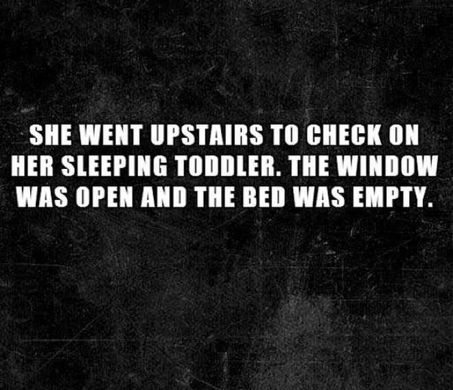 20 terrifying two-sentence short horror stories that will make you hold your breath