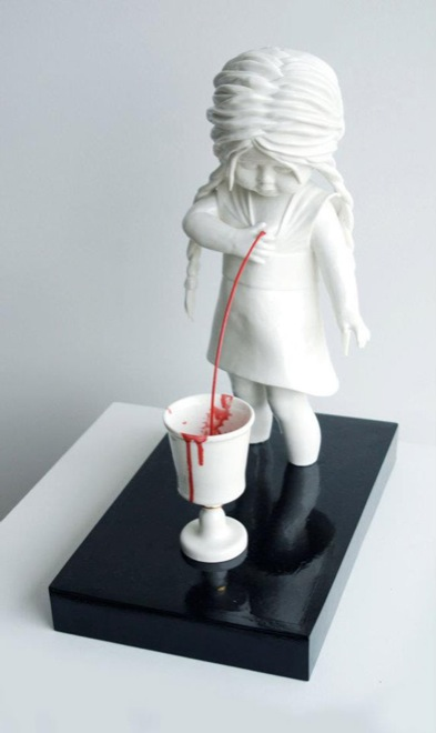 Amazingly Disturbing Porcelain Figurines By Maria Rubinke - Amazingly disturbing porcelain figurines by maria rubinke