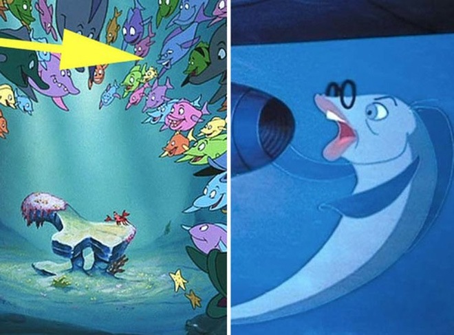 24 hidden secrets in disney movies you probably have never for Don knotts fish movie