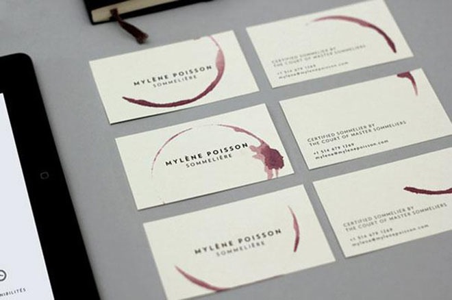 The 30 most brilliant business cards ever made 11 is simply genius behance reheart Images