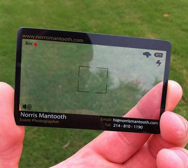 The 30 Most Brilliant Business Cards Ever Made 11 Is Simply Genius