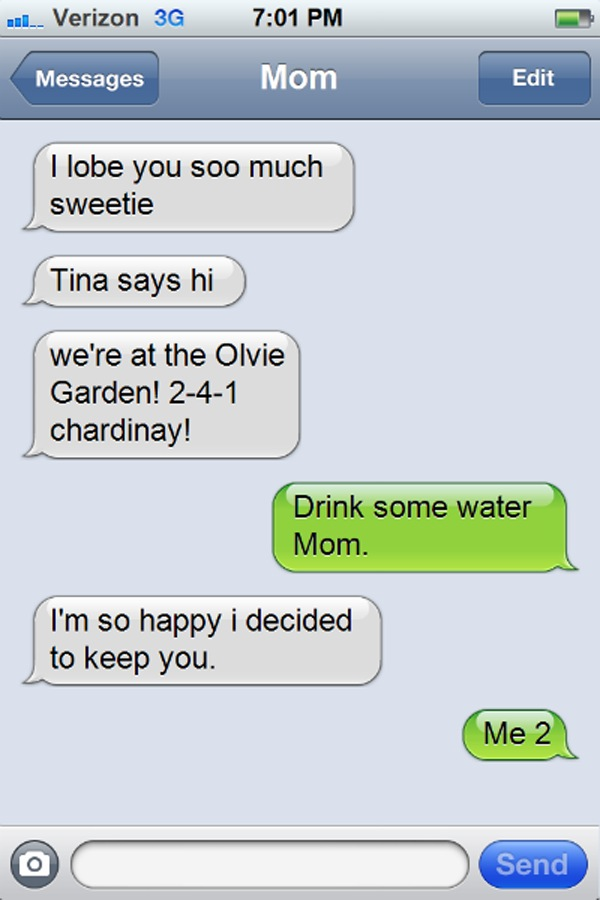 Funny Texts Autocorrect Drunk The 20 funniest drunk ...
