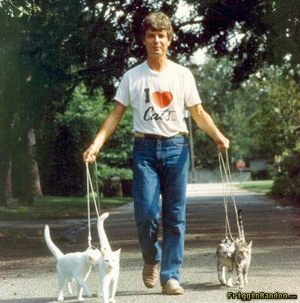 Hilarious Photos Of Men And Cats That Will Make You Cringe - 26 hilarious low budget photoshoot fails that will make you cringe