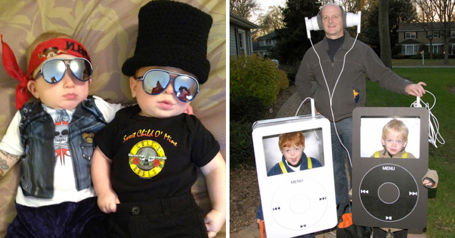 sc 1 st  Just something (creative) & 20 of the funniest costumes twin kids can wear at Halloween