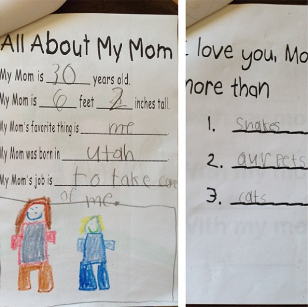 Hilariously Honest Mothers Day Cards From Kids Made My Day - 12 hilariously honest mothers day cards from kids