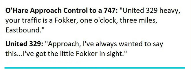 These are real exchanges between pilots and control towers. The last one is priceless!