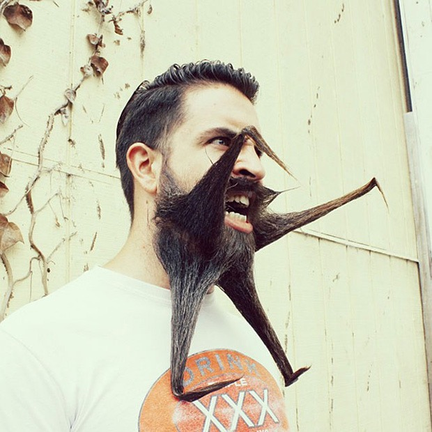 Meet Incredibeard The Man With The Beardest Beard On The Internet - Mr incredibeard really coolest beard ever seen